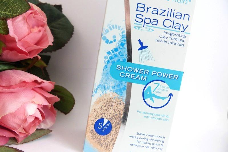 Nair Brazilian Spa Clay Shower Power Cream Lucyy Writes