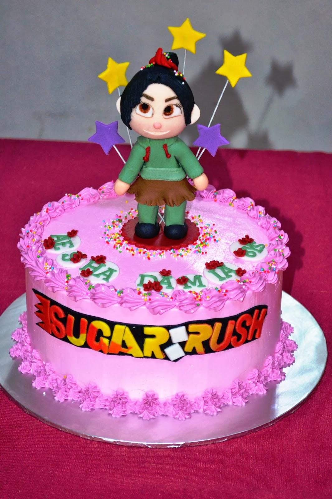 MyPu3 Cake House: Wreck it Ralph Cake