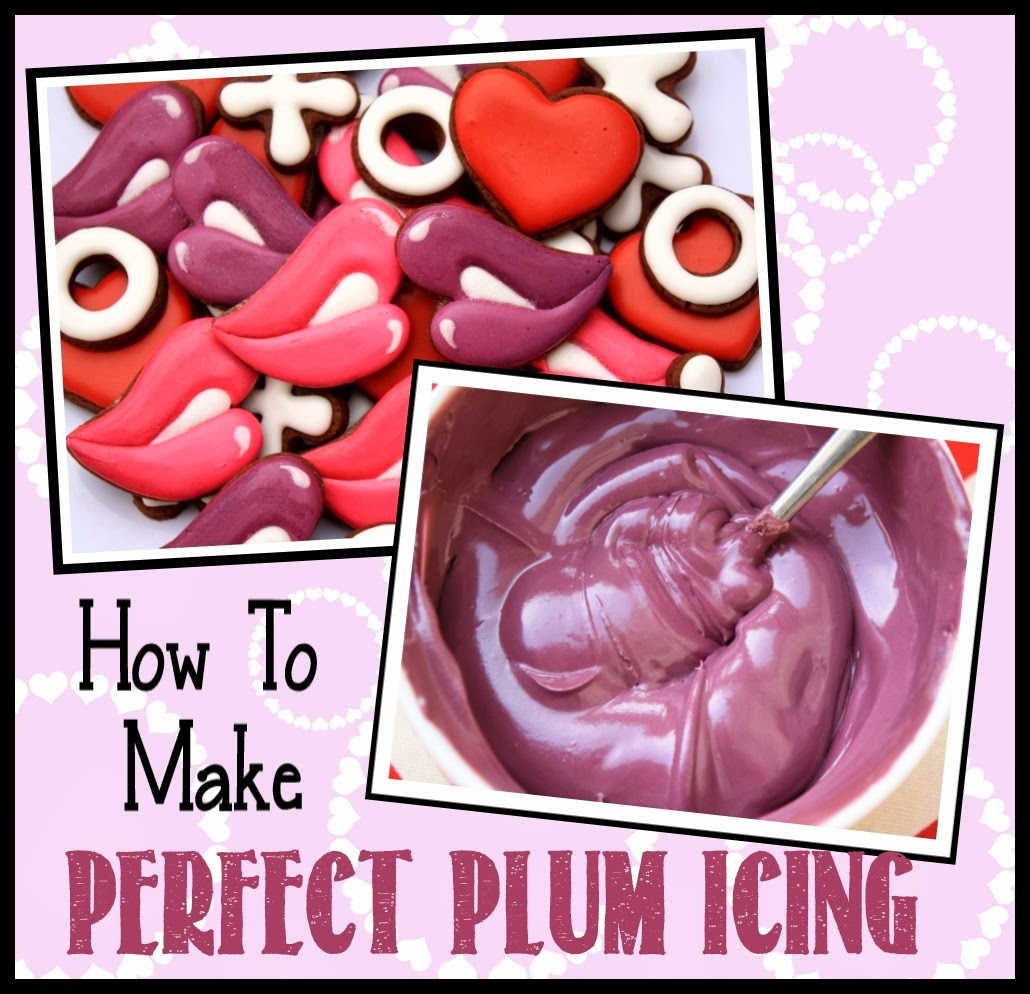 how to make plum icing
