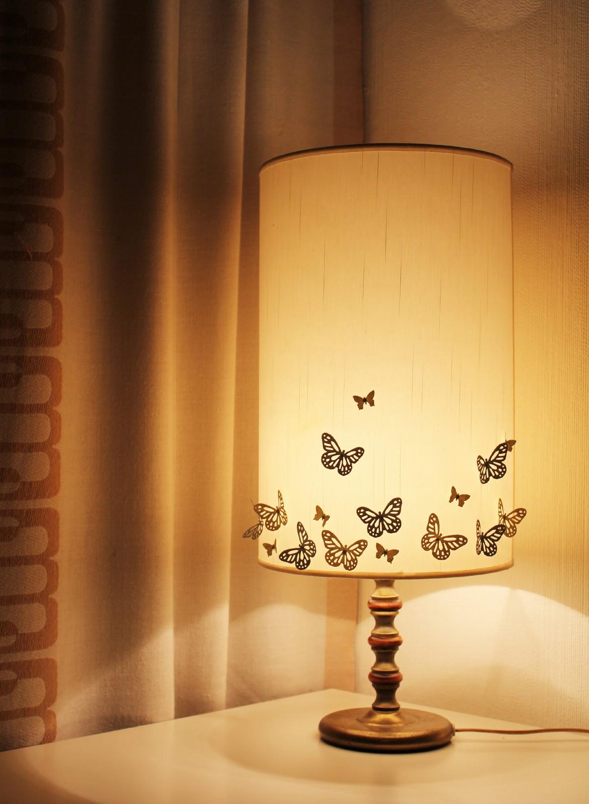 Lidyll: diy: sommerfugl lampe nr 2 & tilbakeblikk på tidligere ...