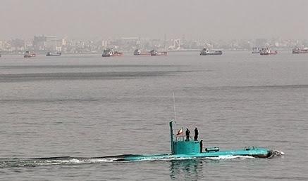 Iran Produksi Massal Kapal Selam Ringan dan Semi Berat