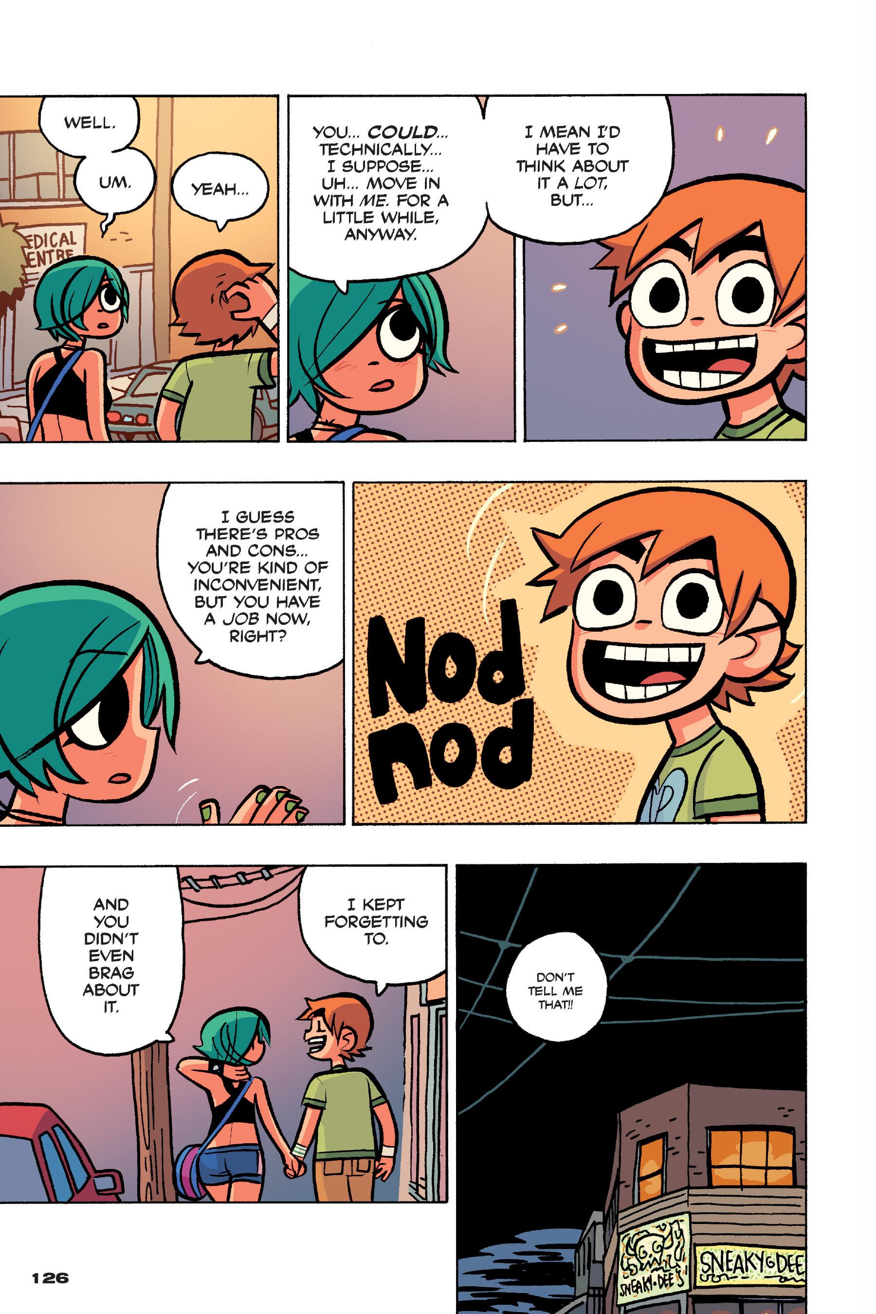 Read online Scott Pilgrim comic -  Issue #4 - 123