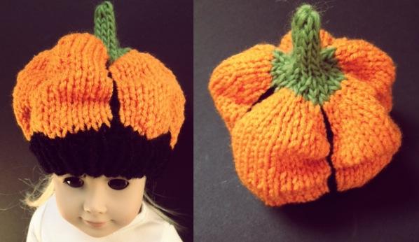 Hand Made Rukodelky Pumpkin Hat Free Knit Pattern