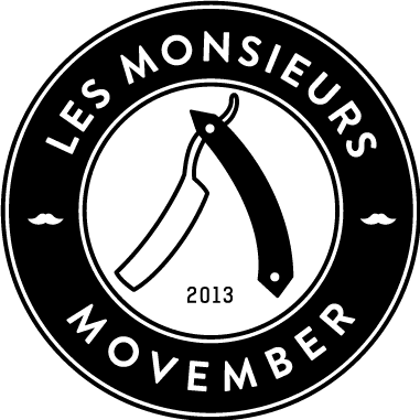 Movember - Donate to Les Monsieurs
