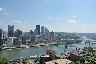 View from Mt. Washington in Pittsburgh