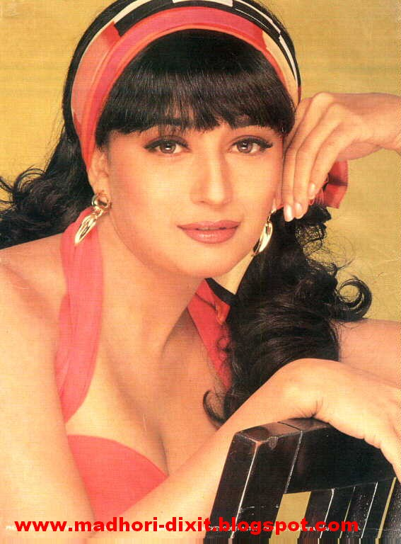 madhuri dixit hot young age