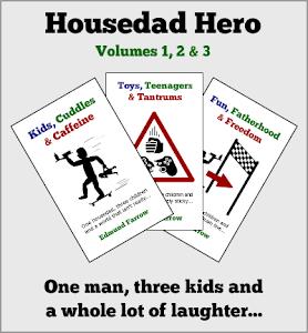 Toys, Teenagers & Tantrums<br>Fun, Fatherhood & Freedom<br>by Edmund Farrow