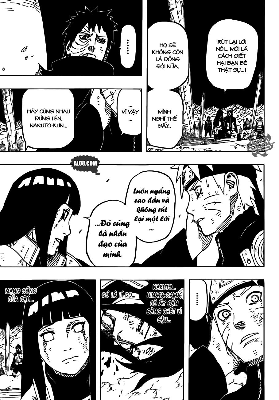 Naruto chap 615 Trang 8 - Mangak.info