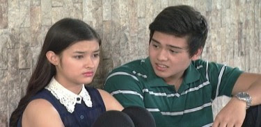 Teen stars Marco Gumabao and Hope Soberano as young Joel and Gladys Villanueva