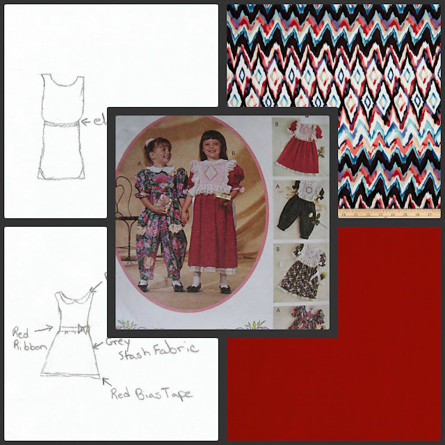 My plans for the Ugly vintage Pattern