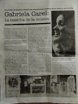 Como Estrellas Villancico Canción Partitura para Voz - Coro por Gabriela Carel