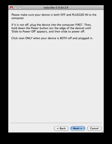 iPhone: Cara Jailbreak IOS 4.3.2 menggunakan Redsn0w 0.9.6rc14 - 4 ...