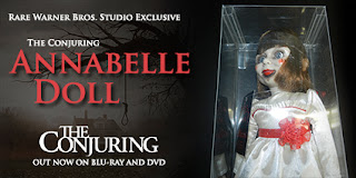 Enter to win a replica possessed Annabelle doll from The Conjuring. Ends 11/10/13.