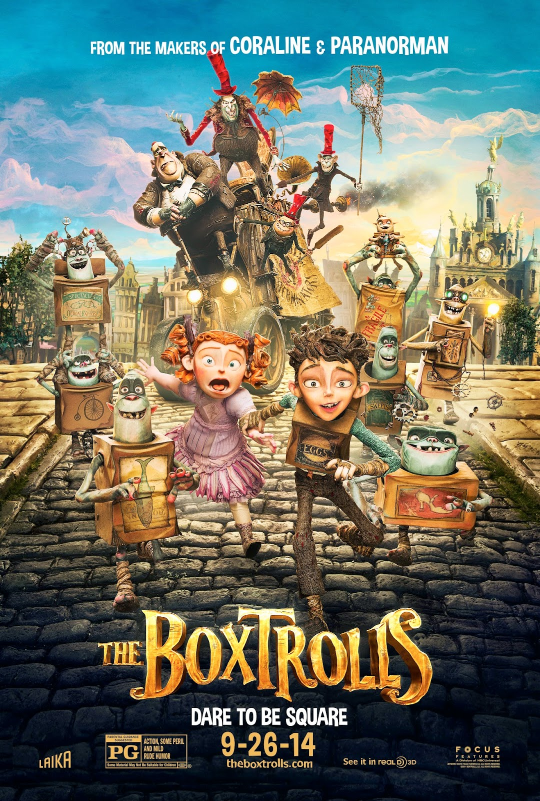 First Look at the Characters and Voice Cast of BOXTROLLS