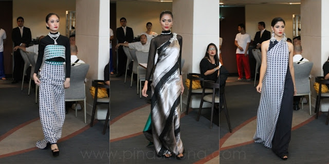 Luzviminda Fashion Show featuring creations by Filipino designers