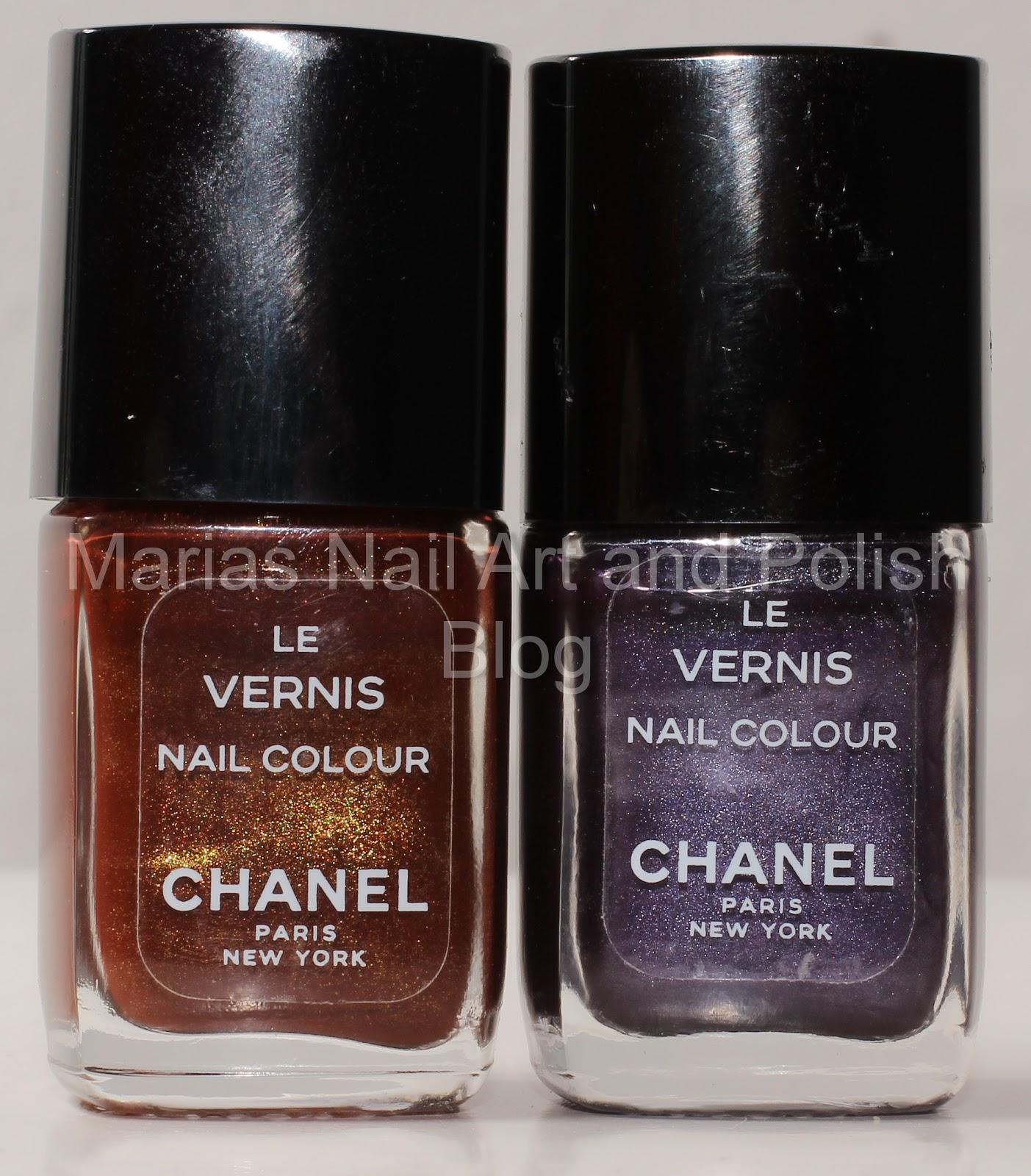 Marias Nail Art And Polish Blog: Chanel Rouge Noir 18