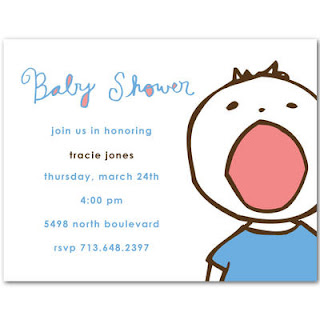 ording Baby Boy Baby Shower Invitations