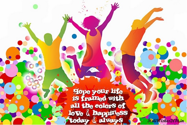 Whatsapp Holi Wishes 2016