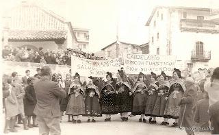 Recibimiento al Ministro en Candelario Salamanca