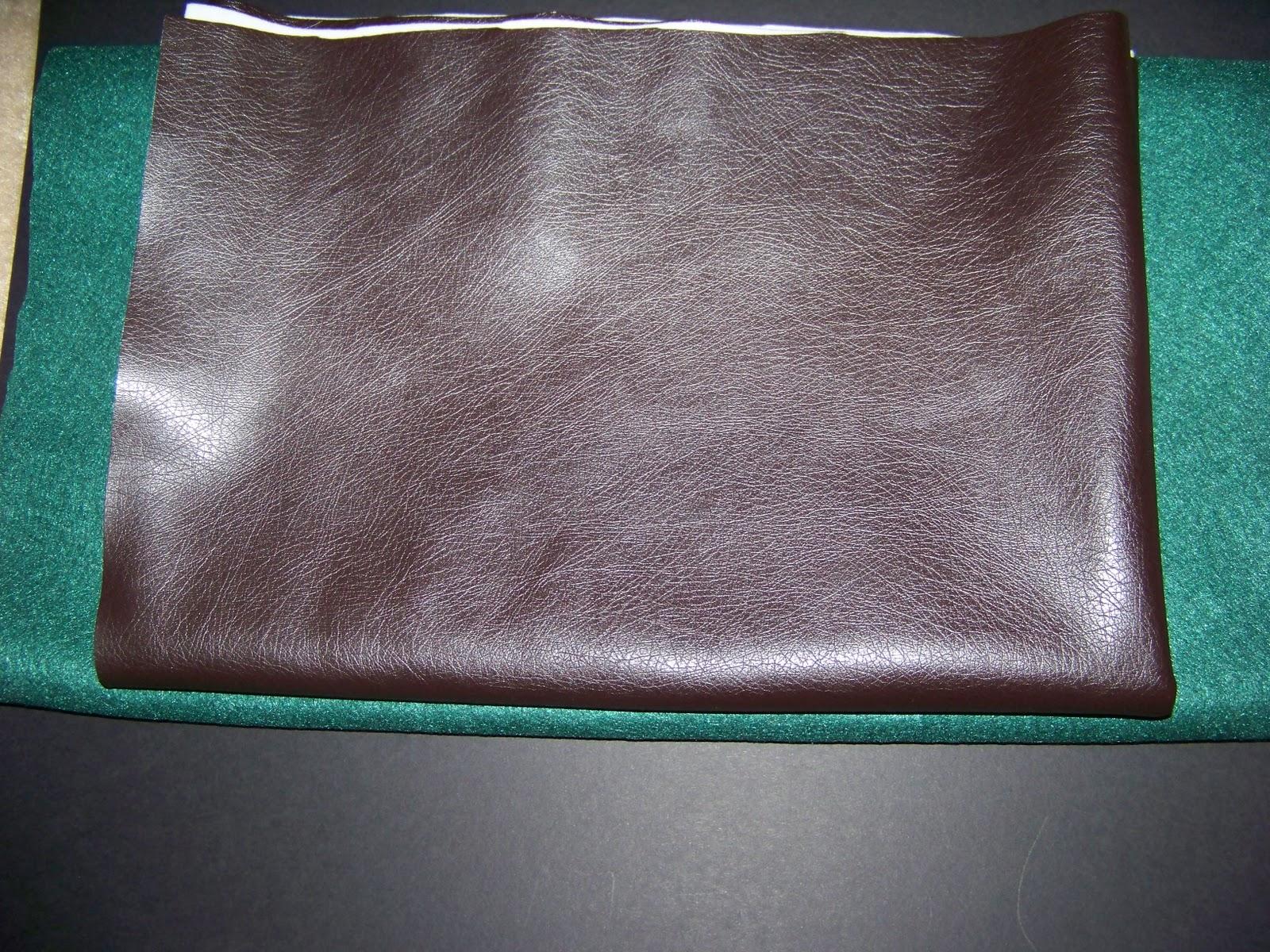 diy leather desk pad