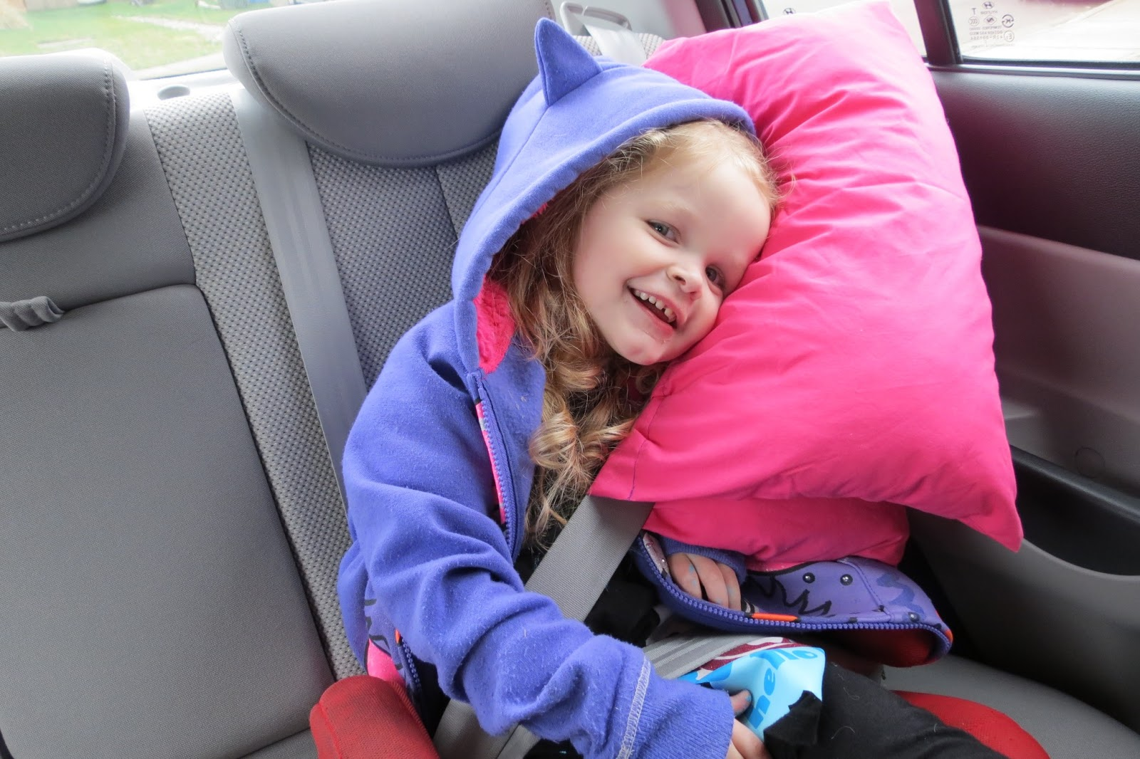 How To Make A Seat Belt Travel Pillow