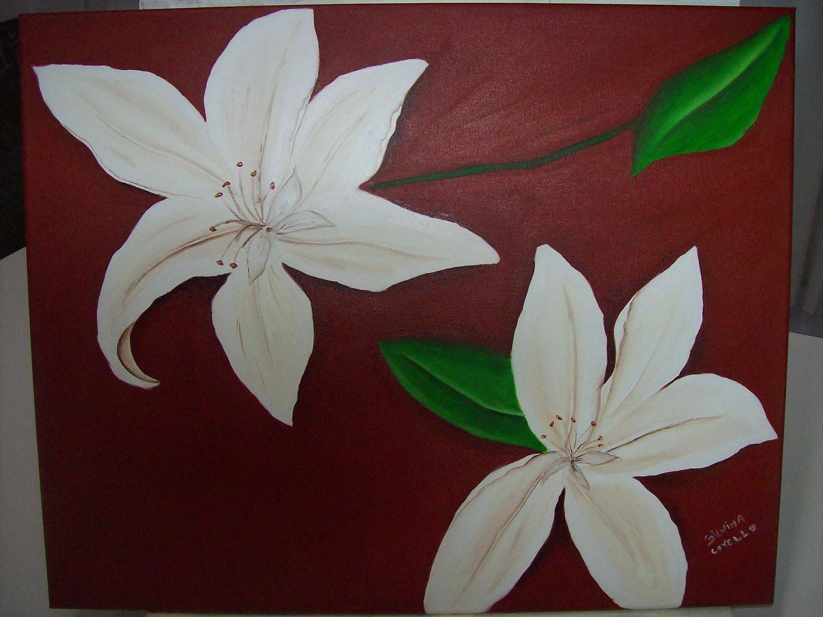 Flores blancas de Silvina