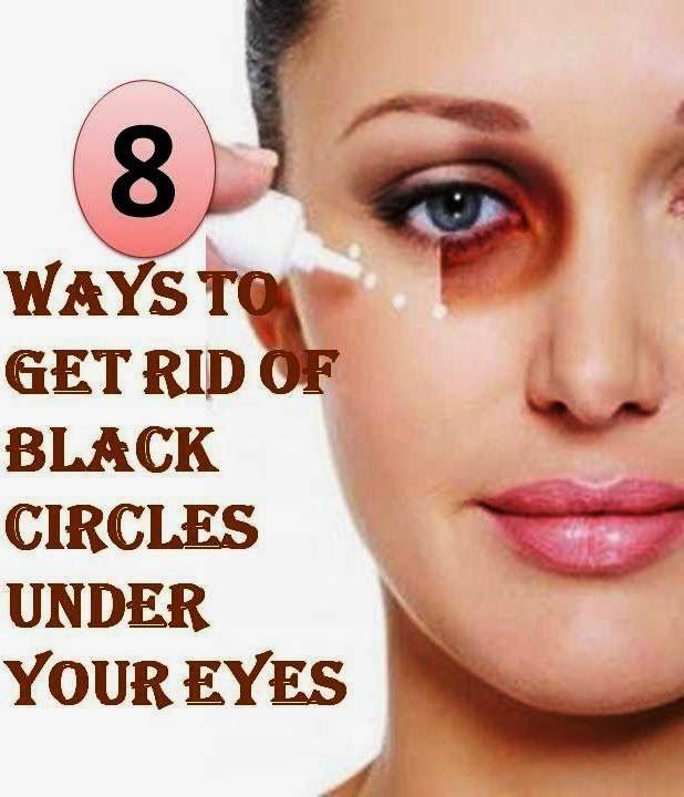 Natural Ways To Get Rid Of Black Circles Under Eyes