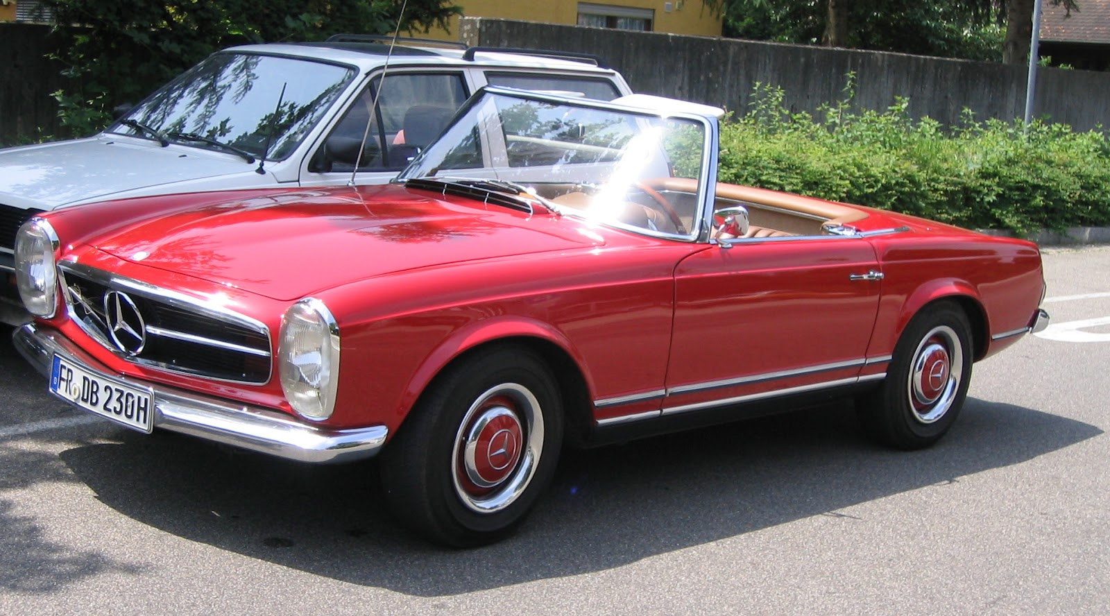 Style mercedes benz 280sl for Mercedes benz styles