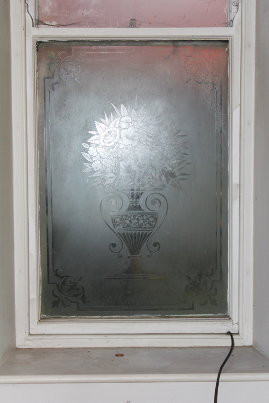 Victorian glazed window