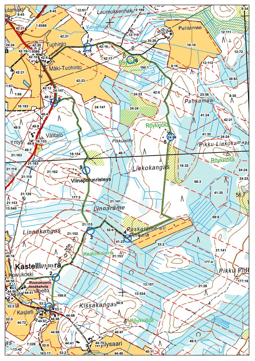 suviseura kartta 2020