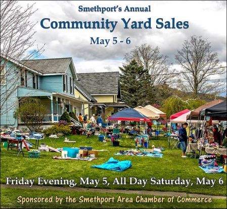 5-5/6 Smethport Community Yard Sales
