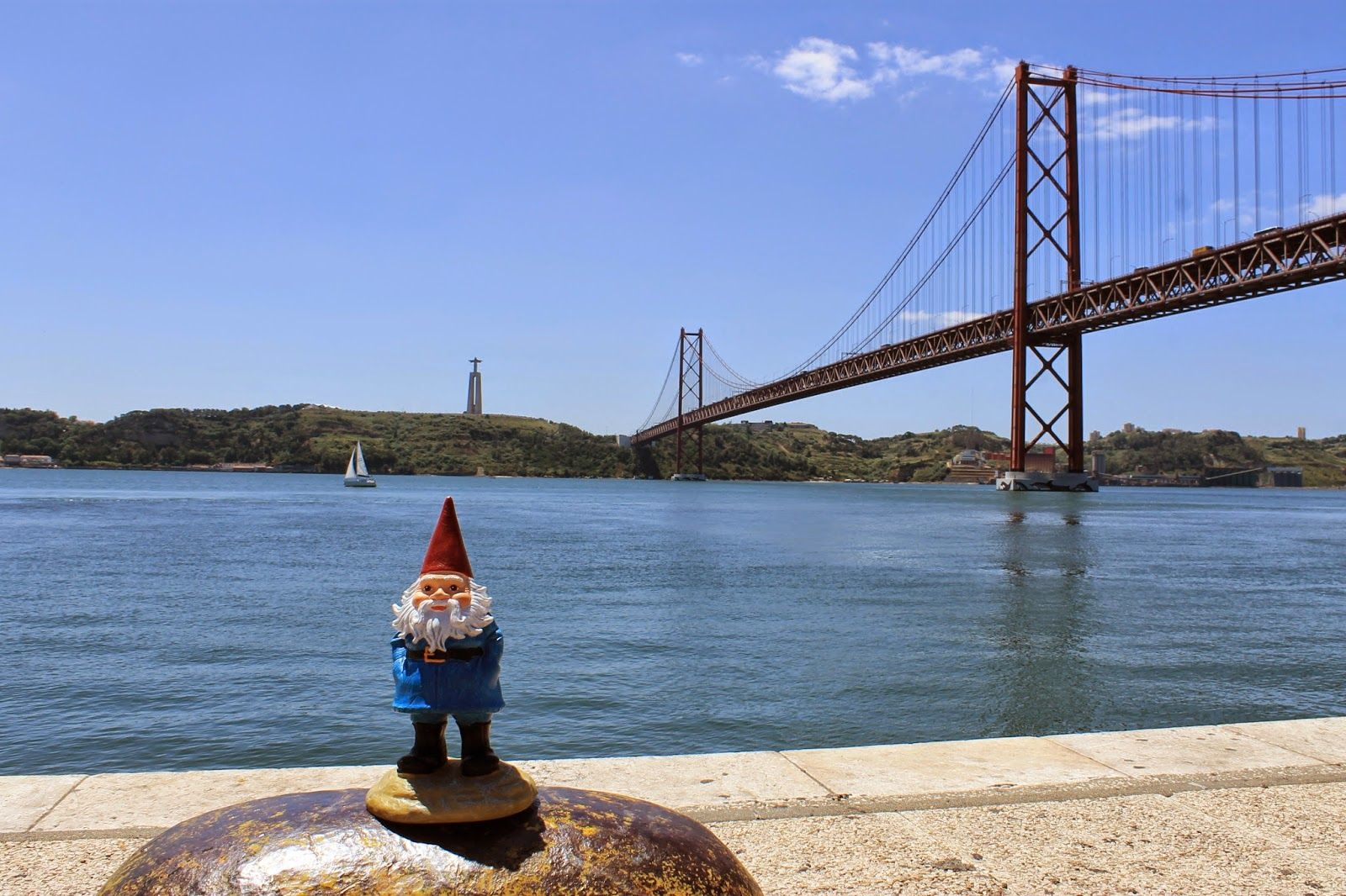 Gnome Adventures Lisbon, Portugal_Tiffzippy