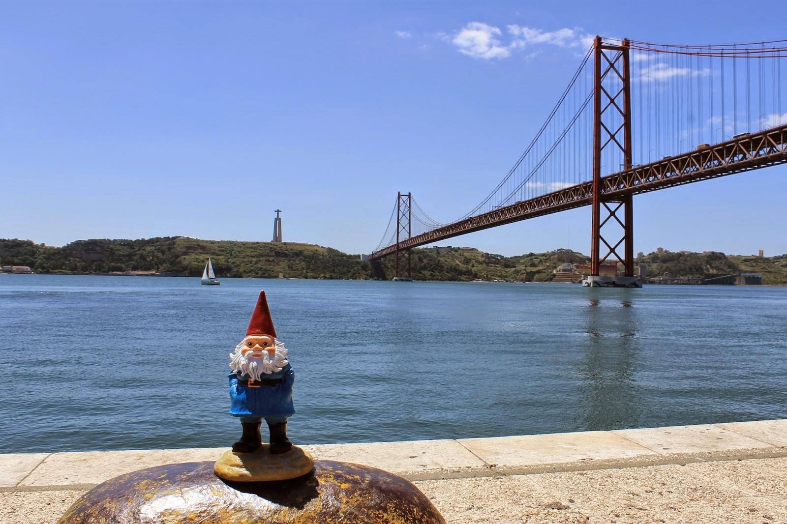 Gnome Adventures Lisbon, Portugal_Tiffzippy