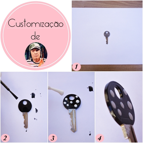 Chaves Customizadas Personalizadas