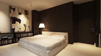 dormitorios color chocolate