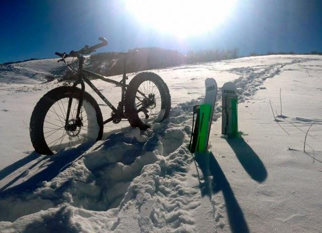 велосипед-снегоход BikeBoards