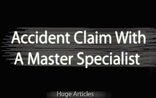 accident claim with a specialist solicitor