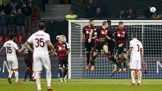 Bayer Leverkusen 4 x 4 Roma - Champions League 2015/16