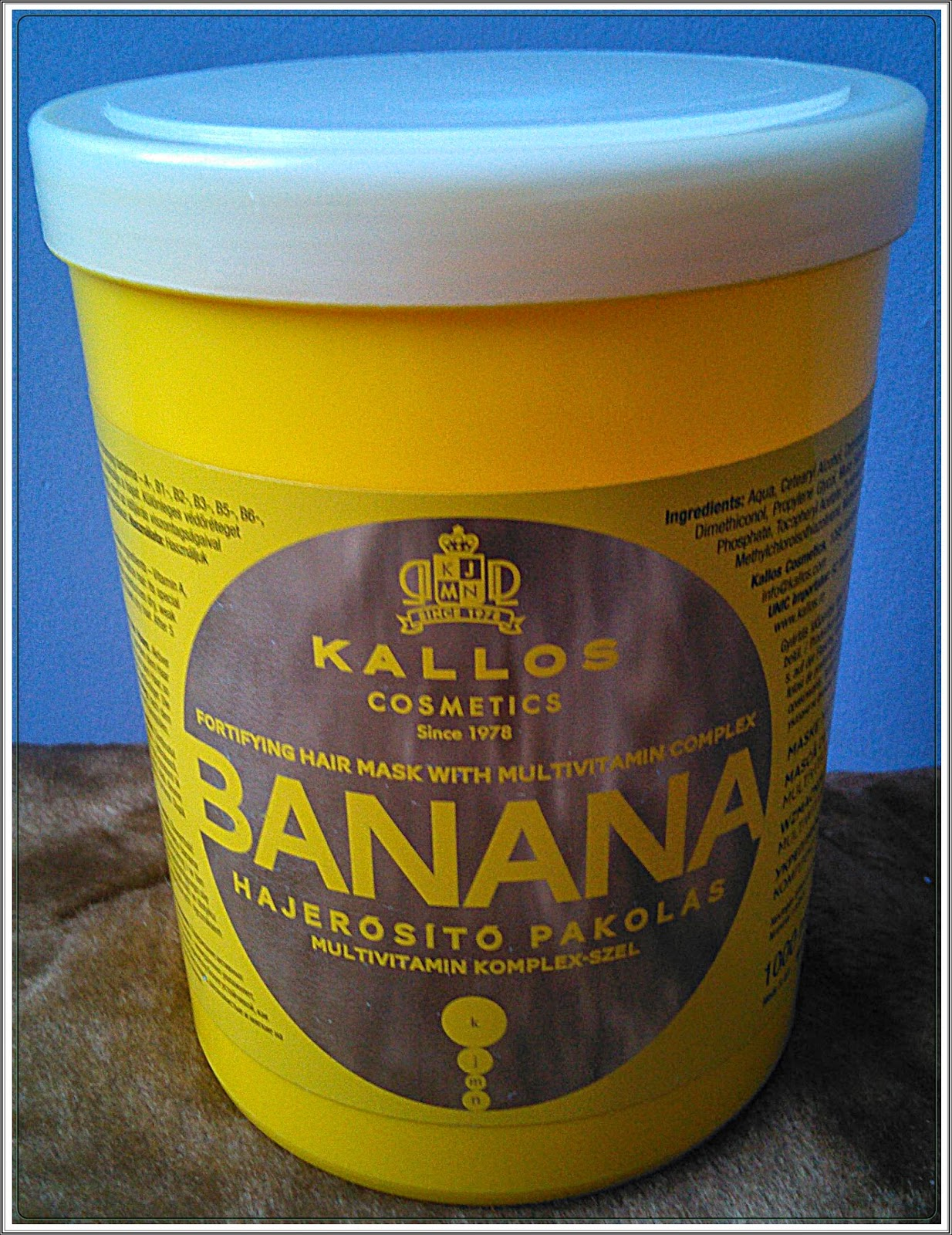 Bananowa propozycja Kallosa :)