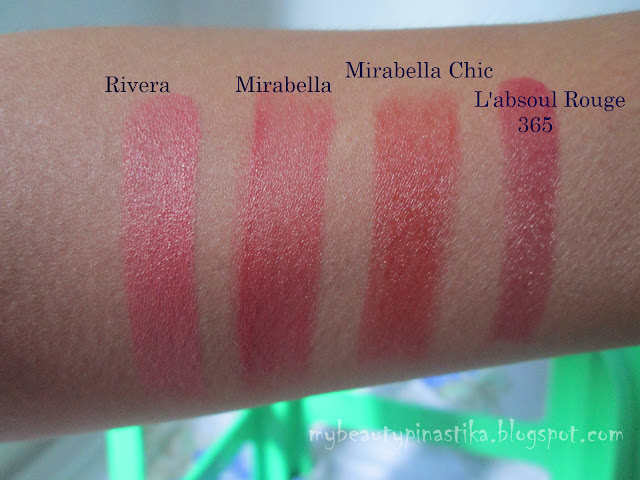 Pinastika Beauty Blog My Lipstick Collection 2013