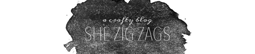 She Zig Zags