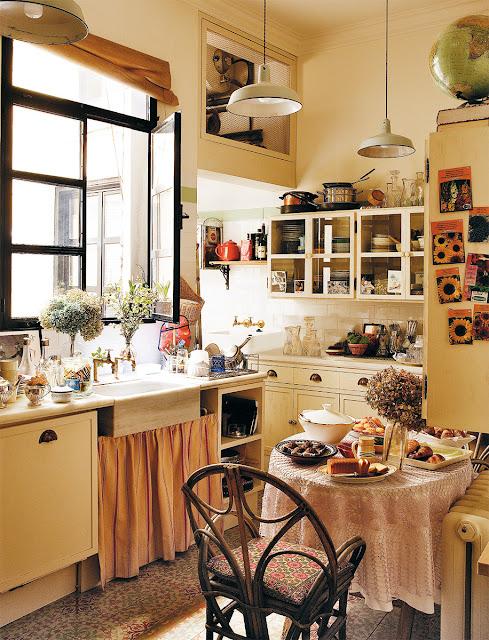 Decor inspiration at home with carolina herrera jr a - Madrid chic style ...