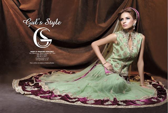 BridalDressesforWeddingwwwShe9blogspotcom252842529 - Bridal Dresses for Wedding by Gul Style Collection