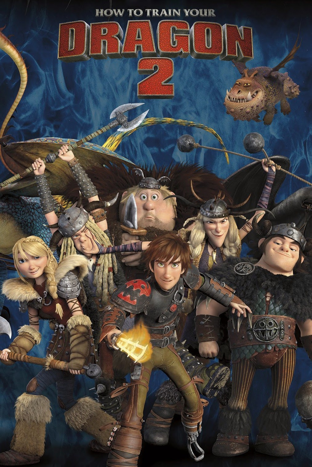 How To Train Your Dragon 2 (2014) WEB-DL Full Movie + Subtitle Indonesia