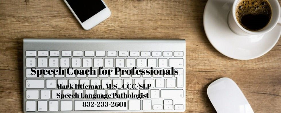 Speech Coach for Professionals