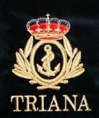 Banda de CCTT Tres caidas de triana Escudo+Banda+Triana