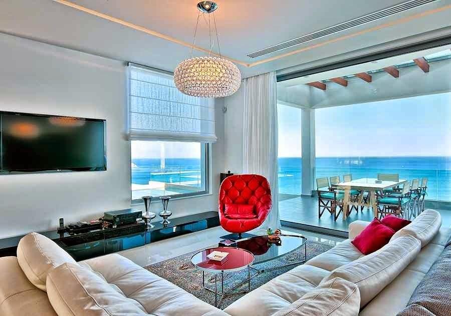 Casa de playa en isla creta con impresionantes vistas al for Decoracion piso playa