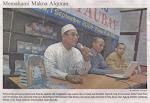 Launching Buku di TB Fajar Agung