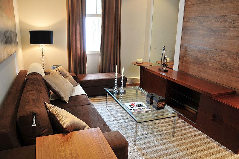 Sala De Tv Com Sofa Marrom ~ Casa da Sheila Salas de estar decoradas e lindas!!!