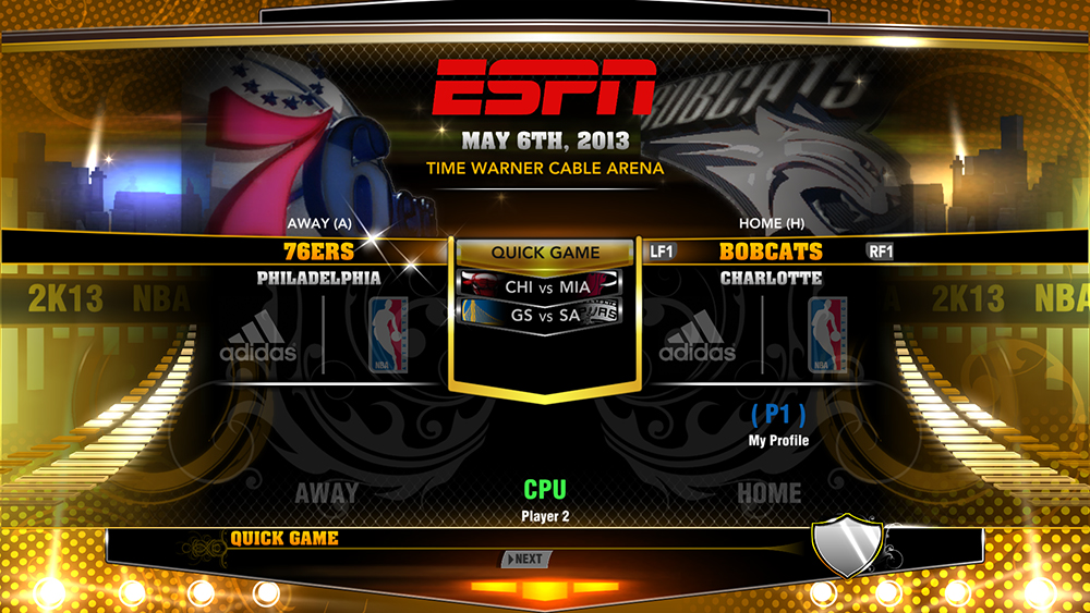NBA 2K13 ESPN Presentation + 3D Team Logos Mod v2 - NBA2K.ORG